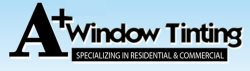 A+ Window Tinting Logo