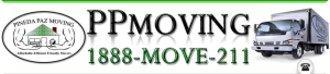 Pineda Paz Moving Logo