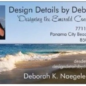 Design Details  by Deborah Logo