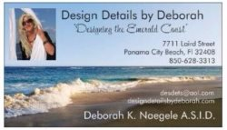 Draperies by Design - Design Details  by Deborah Logo
