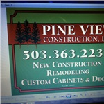 Pine View Construction LLC Logo