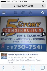 5 Story Construction Logo