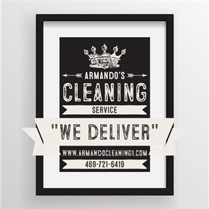 Armandos Cleaning Service Logo