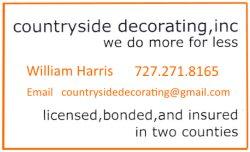 Countryside Decorating Logo
