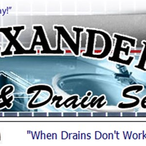 Alexander Sewer & Drain Service Cover Photo