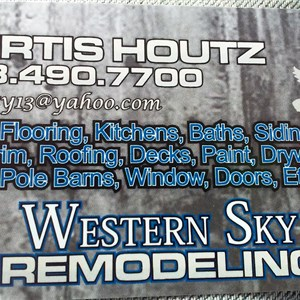 Western Sky Remodeling Cover Photo