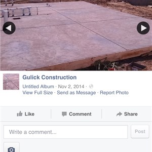 Gulick Constrution co Logo