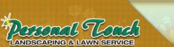 Personal Touch Landscaping & Lawn Service Logo