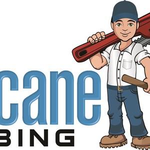 Hurricane Drain Plumbing Logo