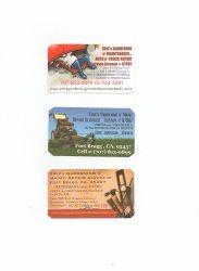 Erics Gardening n Maintenance Repair Services Lic # 67987 Logo