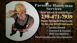 Paradise Handyman Services Logo