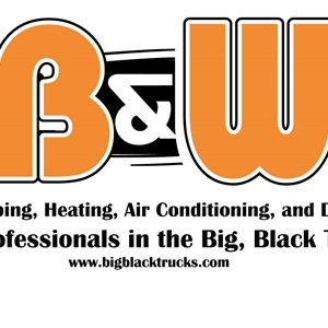 B & W Plumbing Heating And Air Conditioning Co Inc Logo