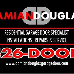 Dmian Douglas Garage Doors Logo