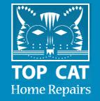 Top Cat Home Repairs Logo