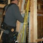 Electrical Contractor Contractors Logo