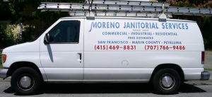 Moreno Janitorial & Carpet Cleaning Logo