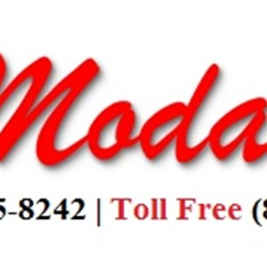 Moda Roof And Fence Company Logo