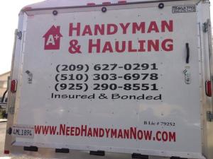 A+ Handyman & Hauling Logo