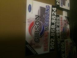 Gibson Heating & Cooling, LLC Logo