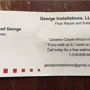 George Installations Cover Photo