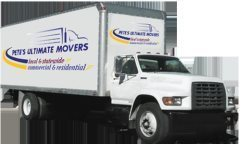 Petes Ultimate Movers Logo