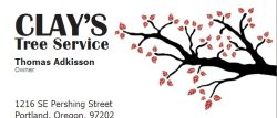 Clays Tree Service Logo