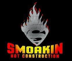 Smoakin Hot Construction Logo