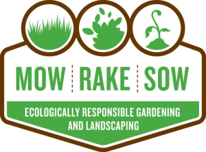 Mow Rake Sow Logo