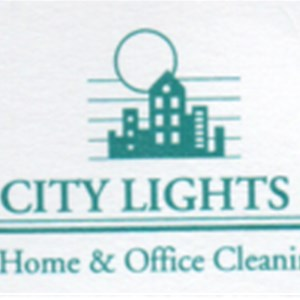 City Lights 2 Home & Office Cleaning Logo