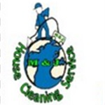 M & J House Cleaning Services Logo