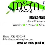 M&M Professional Painters Inc. Logo