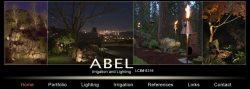 Abel Irrigation & Lighting Logo