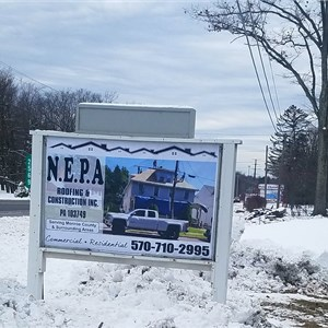 N.E.P.A Roofing & Construction Inc. Logo