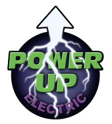 Power Up Electric Logo