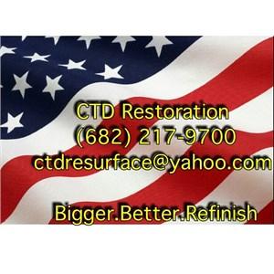 CTD Restoration Company Logo
