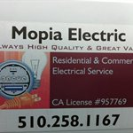 Mopia Electric Logo