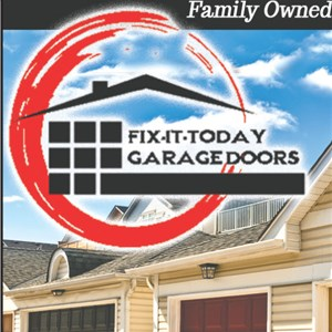 Fix It Today Garage Doors Logo