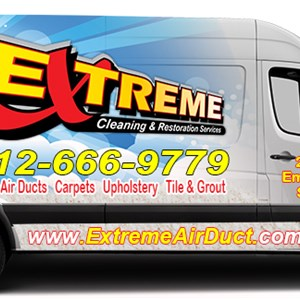Extreme Air Duct Cleaning and Restoration Logo