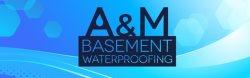 A & M Basement Waterproofing Logo