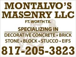 Montalvos Masonry L.L.C Logo
