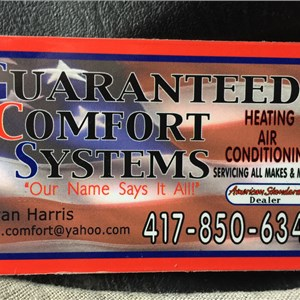 Guaranteed Comfort Systems Cover Photo
