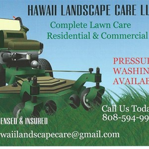 Hawaii Landscape Care LLC Cover Photo