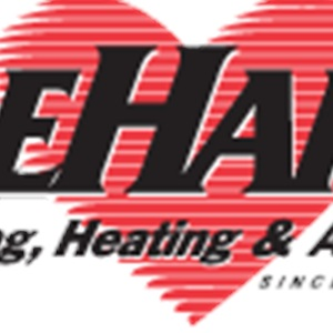 Dehart Plumbing, Heating And Air Logo
