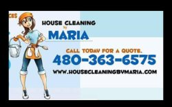 House Cleaning by Maria Logo