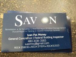 Savon home improvement Logo