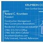 Krumbein Construction Llc. Cover Photo