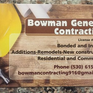 Bowman General Contracting Logo