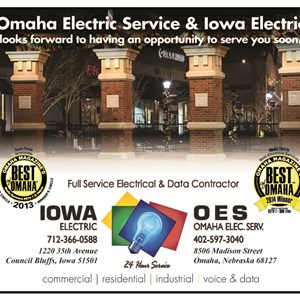 Omaha Electric SVC INC Logo