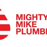 Mighty Mike Plumbing Logo