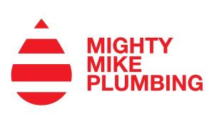 Mighty Mike Plumbing Logo